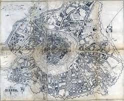 map of vienna historical maps and timetables of vienna austria
