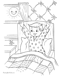 free printable christmas coloring pages christmas morning