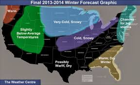 California Weather Map The Weather Centre Final 2013 2014 Winter Forecast