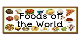 foods from around the world resources primary treasure chest
