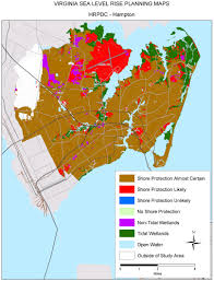 Map Of The Hamptons Sea Level Rise Planning Maps Likelihood Of Shore Protection In