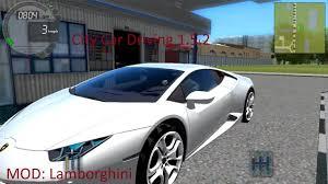 city car driving lamborghini city car driving 1 5 2 mod lamborghini ca