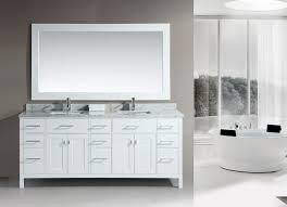 Double Bathroom Sink Cabinets Double Vanity Bathroom Sinks 60 Marilla Double Vanity For Vessel