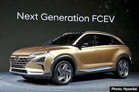 hyundai genesis suv carnichiwa hyundai previews fuel cell suv plus kona and