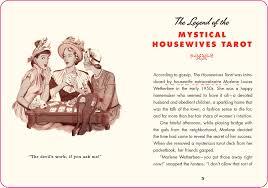 spirit halloween w2 the housewives tarot a domestic divination kit paul kepple jude