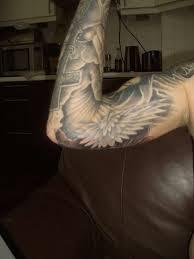 inner bicep wing inner arm inner forearm tattoos