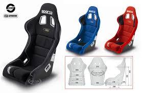 siege baquet sport seat rev plus sparco sparco