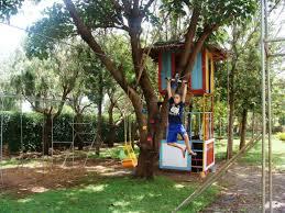 zipline for backyard home outdoor decoration