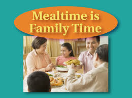 needs center mealtime is family time
