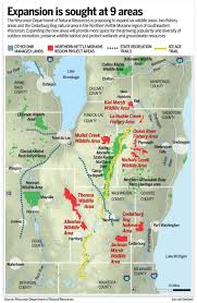 Map Of Southeast Wisconsin by State Looks To Expand Wildlife And Natural Areas In Southeastern