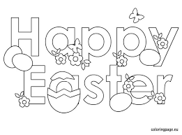 free download happy easter coloring pages 13 free