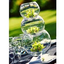 jumbo bubble bowl glass vases 1pc 16