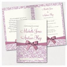 personalised wedding invitations handmade with envelopes pack of