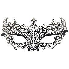 black and white masquerade masks k9 rhinestones metal luxury venetian laser cut masquerade filigree