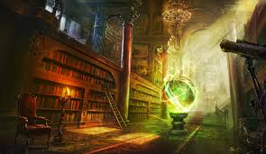 fantasy library art wallpapers hd desktop and mobile backgrounds