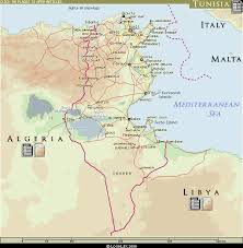tunisia on africa map looklex atlas middle east africa tunisia
