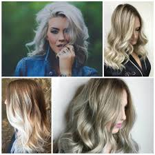 trendy grey hair trendy blonde hair color ideas awesome grey hair colors for 2017