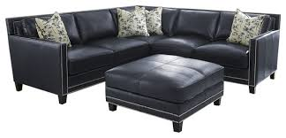 fresh navy blue leather sectional sofa 66 about remodel sectional