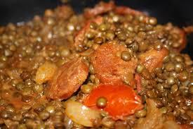 comment cuisiner les lentilles lentilles au chorizo mapom en cuisine
