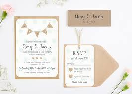 polka dot wedding invitations burlap bunting with polka dots wedding invitation bundle