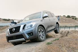 nissan armada off road 2017 nissan armada review first drive news cars com