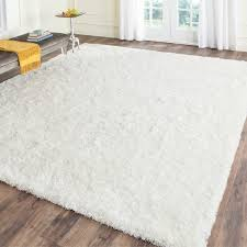 safavieh handmade malibu shag white polyester rug 8 u0027 x 10