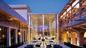 Palace Design Baradari A Newly Renovated Cafe Inside Jaipur City Palace Ad India