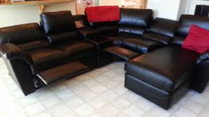 Sectional Sofas With Recliners And Cup Holders Custom La Z Boy Reese Sectional Youtube