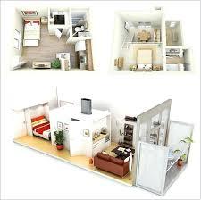 1 Bedroom Flat Interior Design 1 Bedroom Apartment House Plans Apartment Interior Design