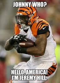 Cincinnati Bengals Memes - 31 best memes of johnny manziel getting destroyed by the cincinnati