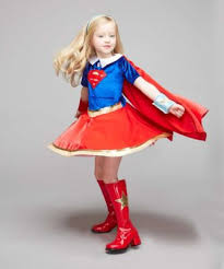 Supergirl Halloween Costumes Speed Ray Vision Supergirl Costume Kids Dc