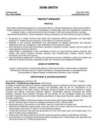 information technology resume template summary highlights