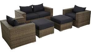 Asda Direct Armchairs Borneo 5 Piece Sofa Set Light Brown Home U0026 Garden George