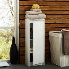 White Wicker Bathroom Storage by Bathroom Floor Cabinet Photo And Tips Bathroom Designs Ideas