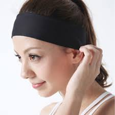 sports hair bands women sports sweatband headband elastic hair band