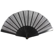 held fan folding fabric held fan party pocket gifts