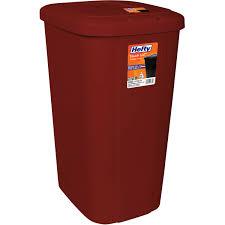 Bedroom Wastebasket Kis 11 Gallon Swing Lid Slim Trashcan Walmart Com