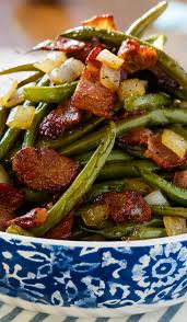 sweet and sour green beans spicy southern kitchen