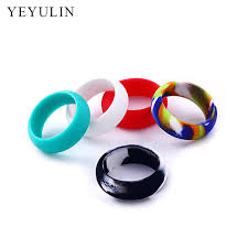 jewelry rubber rings images New trendy rings jewelry size 9 10 11 12 hypoallergenic crossfit jpg