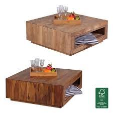Wohnzimmertisch Quadratisch Couchtisch Quadratisch Holz Günstig Kaufen