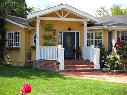 delightful exterior house paint color ideas with yellow wall color