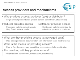Data Centers Title Providing Access To Your Data Access Mechanisms Robert R Downs