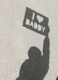 i love daddy shadow photo shadow photos birthdays and gift