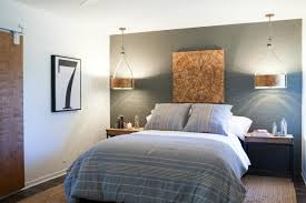 bedroom ideas wonderful cool blue with green accent wall bedroom