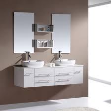 bathroom 60augustinedoublevanitywhite3 floating vanities for