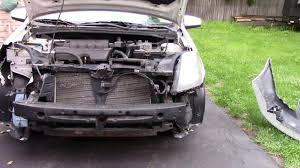 nissan sentra quarter panel nissan sentra accident repair part 1 youtube