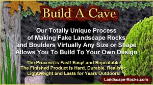 how to make a cave build a backyard cave youtube