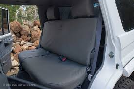 Car Seat Covers Melbourne Cheap Landcruiser 70 Series Dual Cab Vdj79 Black Duck Seat Covers