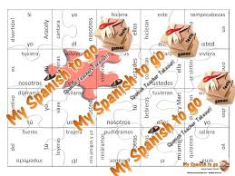 partner puzzles the imperfect subjunctive card stock puzzles