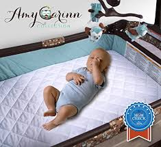 Baby Cribs Mattress Acc Pack N Play Crib Mattress Pad Cover Fits All Mini Cribs